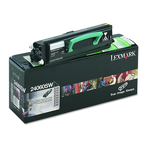 Lexmark 24060SW Toner, 2500 Page-Yield, Black - E332 Laser Printers
