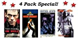 4 Pack Van Damme Special: In Hell, Death Warrant, Universal Soldier & Maximum Risk