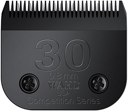Pro Wahl Series (Wahl Professional Animal #30 - Fine Detachable Ultimate Blade Set #2355-500 - Blade Brush Included)