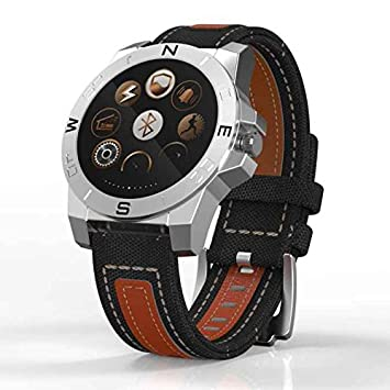 Bluetooth Smartwatch con Pantalla Táctil, Reloj Inteligente Diseño elegante,Smartwatch mejor,inteligente pantalla