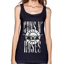 Us Rock Band Gnr Guns N' Roses Tank Top For Women Black