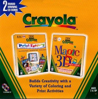 Crayola Magic 3D Colouring Book Print Factory