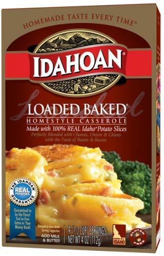 Idahoan Homestyle Casserole Loaded Baked Potatoes 4 oz (Pack of 4)