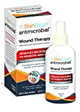 SkinSmart Antimicrobial Wound Therapy Safely Removes Bacteria so Wounds Can Heal, 8oz Clear Spray