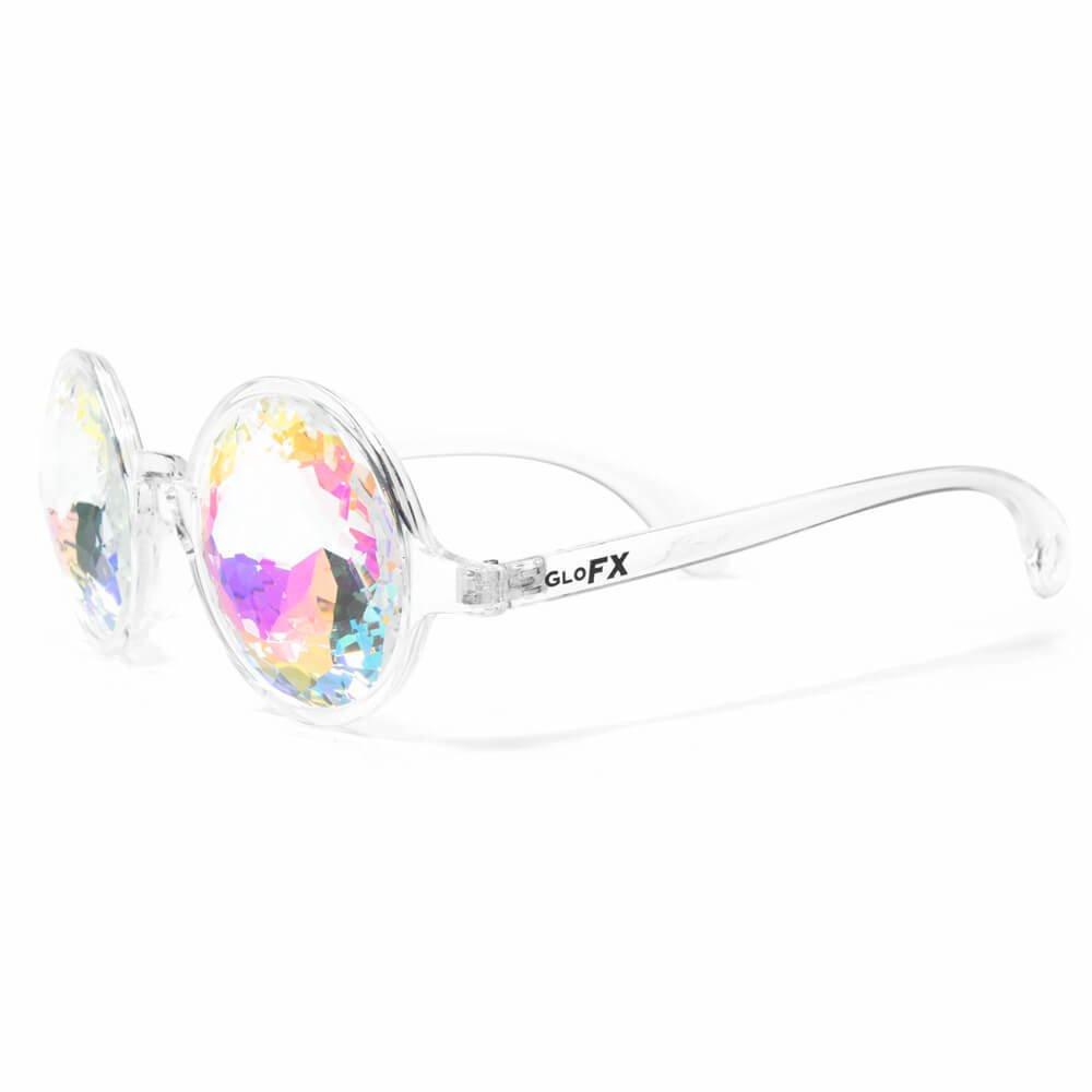 GloFX Verres kaléidoscopiques transparents pour femmes Taille unique Clair J2RU6vwR