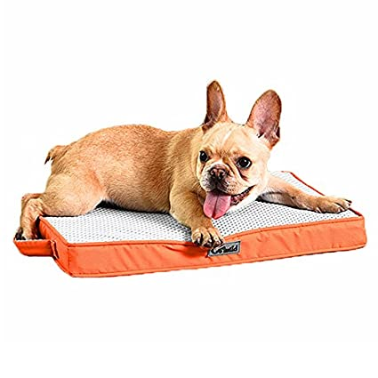 Petacc Waterproof Cama para mascotas Cojín de perro transpirable Cómodo colchón de gato, fácil de