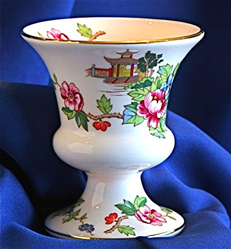 English Bone China Miniature Vase Staffordshire Crown ()