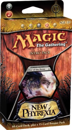 Magic the Gathering: MTG: New Phyrexia Intro Pack: Feast of Flesh Theme Deck (Decks Mtg New)