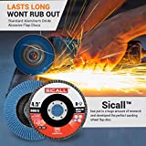 Sicall 12 Pack Flap Discs And Sanding Discs T29 40