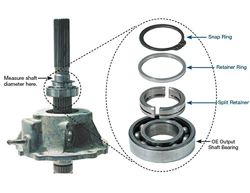 Output Bearing Sonnax 10042001K Snap Ring