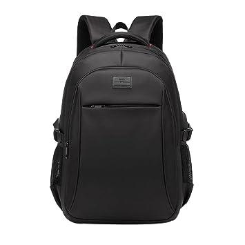 STRIR Mochila antirrobo Impermeable, Mochila para Portátil Multiusos Daypacks con Puerto de Carga USB,Mochilas Escolares Juveniles,Rucksack Negocio Para ...