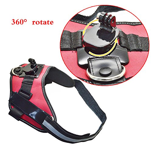 camzon-360-degree-rotation-dog-fetch-harness-chest-strap-belt-mount-with-angle-locking-button-for-go