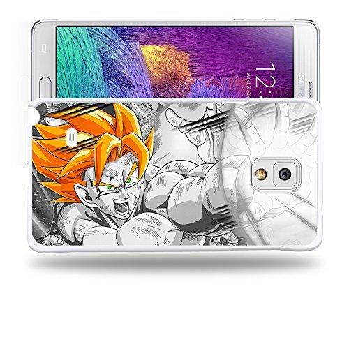 Case88 Designs Dragon Ball Z GT AF Son Goku Super Saiyan Super Saiyan Goku Protective Snap-on Hard Back Case Cover for Samsung Galaxy Note 4