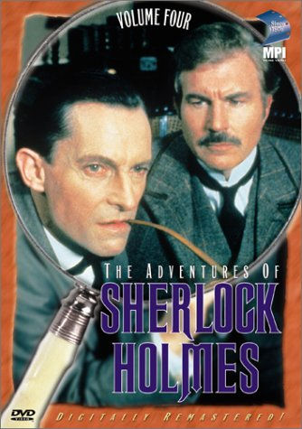 The Adventures of Sherlock Holmes,  Vol. 4 (The Greek Interpreter / The Norwood Builder) -