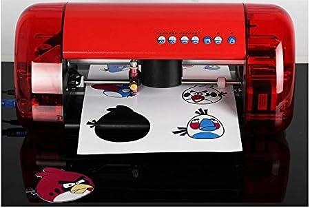 DC-330 - Máquina de corte A3 para máquina de tallar de sobremesa, máquina de corte de cruz, posicionamiento óptico: Amazon.es: Bricolaje y herramientas