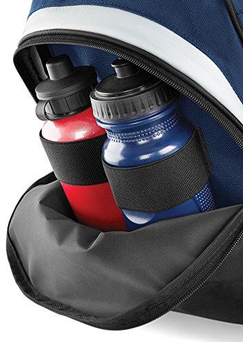 arnold Gym Herren Sporttasche, fürs Bodybuilding / den Sport, Schultertasche, rot / schwarz, klassische Tasche