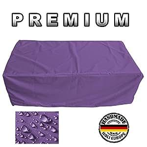 Muebles de Jardín Premium Funda Protectora/mesa de jardín Lona B 300cm x t 220cm x h 90cm lila