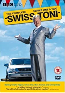 Picture of BBCDVD 1249 Swiss Toni by artist Paul Whitehouse / Charlie Higson from the BBC dvds - Records and Tapes library