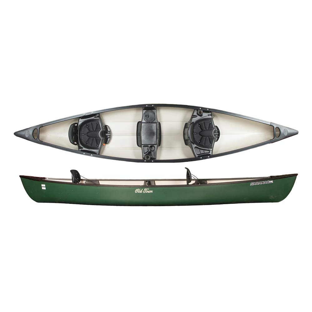 Old Town Saranac 146 Recreational Family Canoe, Green, 14 Feet 6 Inches by Old Town Canoes & Kayaks