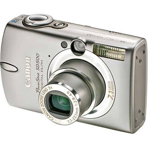 Digital Concepts Powershot Canon - Canon Powershot SD500 7.1MP Digital Elph Camera with 3x Optical Zoom