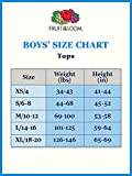 Fruit of the Loom Boys' Cotton White T