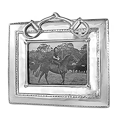 Image of Bits Beatriz Ball Equestrian Snaffle Bit 5X7 Frame