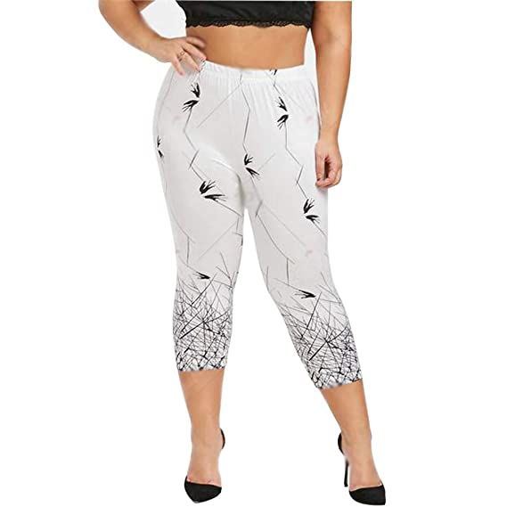 Luckycat Leggings Mujer 3/4 Pantalones de Yoga Deportivas ...