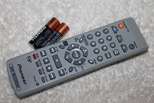 Pioneer Vxx2981 DVD Recorder Dvr-231av 233 Remote-w Duracell Batteries (Dvd Recorder Dvr)