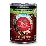 Purina ONE SmartBlend True Instinct Natural Classic Ground Grain-Free Formula With Real Chicken & Duck Adult Wet Dog Food - 13 oz. Can