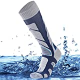 SuMade Knee High Waterproof Hiking Socks, Unisex