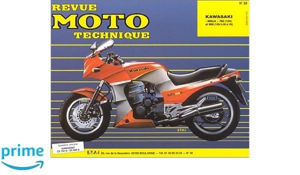 Rmt 59.2 kawasaki ninja zx750 g2-zx 900a1-a2(84/85): Amazon ...