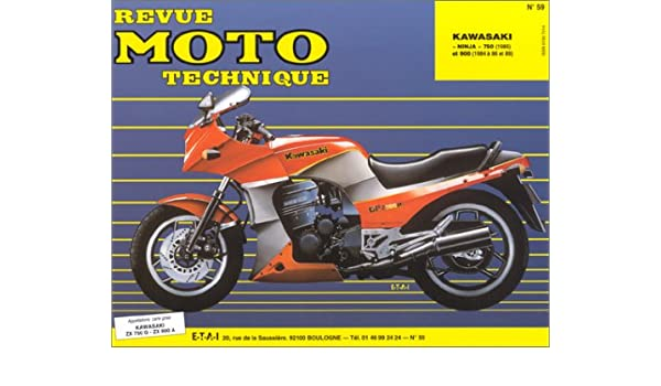 Rmt 59.2 kawasaki ninja zx750 g2-zx 900a1-a2(84/85 ...