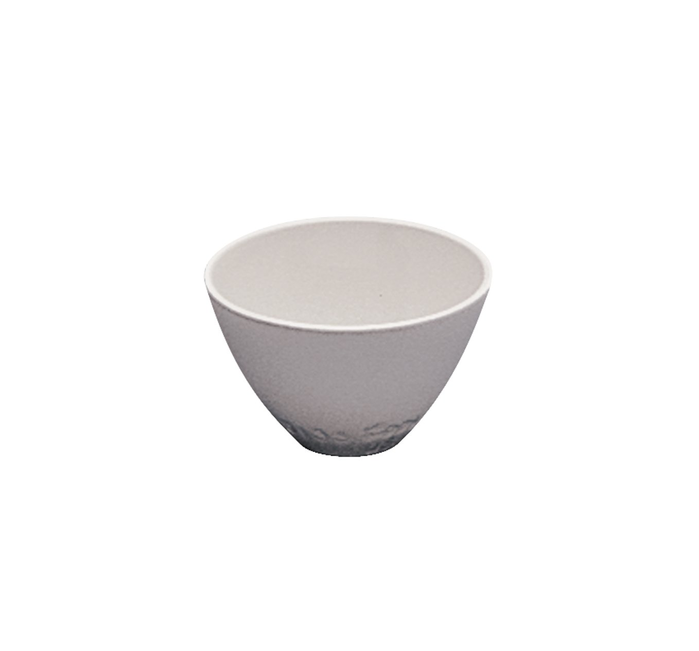 CoorsTek 60133 Porcelain 8mL Wide Form Crucible, White Glazed, 32mm OD x 20 Height by CoorsTek