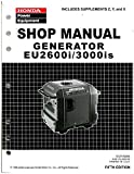 61ZT700E7 Honda EU2600I EU3000IS Generator Shop Manual