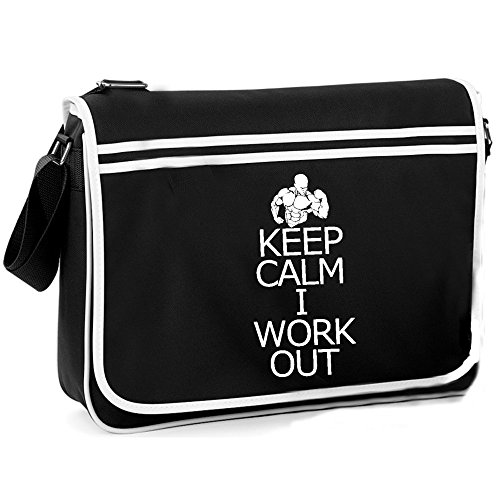 Shoulder Calm Retro Bag Out Keep Work xfq0gnI