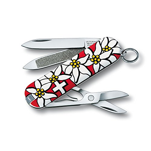 Victorinox Classic Edelweiss - Swiss Army Pocket Knife 58 mm - 7 ()