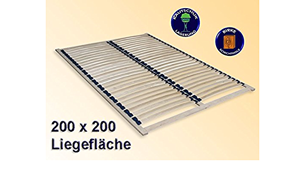SOMIER Duplex 200 x 200 cm, marco para estructuras, cama ...