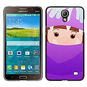EJOY---Cubierta de la caja de protección para la piel dura ** Samsung Galaxy Mega 2 ** --Cabrito lindo Madre Padres hijos de