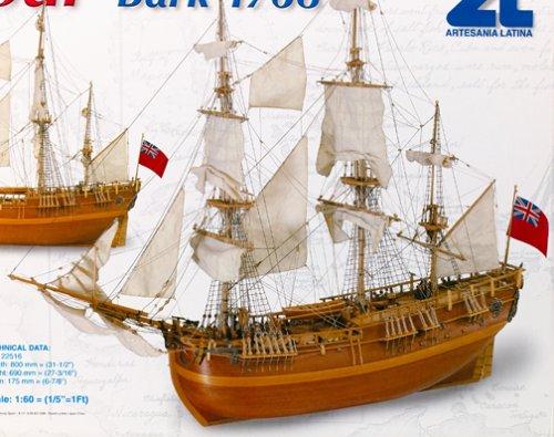 22516 1/60 HMS Endeavor
