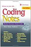 Coding Notes: Medical Insurance Pocket Guide (Davis's Notes)
