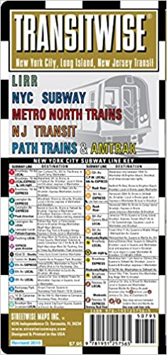 Train Subway Map New York.Streetwise Transitwise New York City Subway Map Manhattan Subway