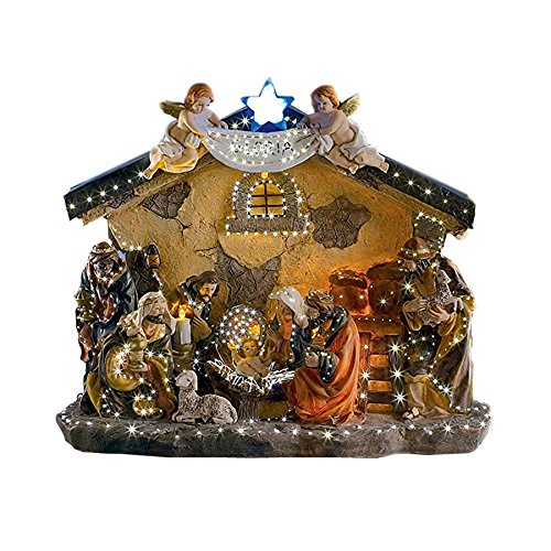 Brubaker Christmas Holiday Decoration Real Life Nativity ...