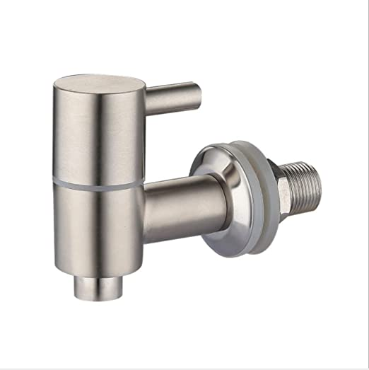 Gvode Beverage Dispenser Replacement Spigot,Stainless Steel Faucet for Drink//Water//Beer Jar,Polished Finished with Screen Filter