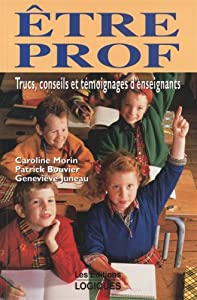 Paperback Etre prof [French] Book