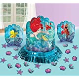 Disney Ariel The Little Mermaid Dream Big Table Decorating Kit 23 pieces Party Supplies