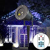 Outdoor Lights ODB-100 5W Life Waterproof Stars Pattern Outdoor Lawn Yard Garden Decorative Projector Lamp with Remote Controller Garden Lights