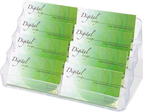 Deflecto Visitenkartenhalter De70801 199x89x98mm Glasklar 8