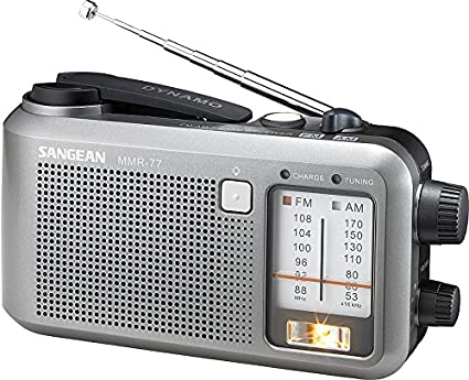 MMR-77 Hand Crank Emergency Am/FM Portable Radio