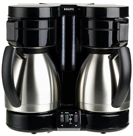 Amazon.com: Krups 324 – 42 Duothek 10-cup Dual térmico ...