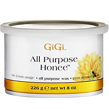Gigi Tin Honee Wax All Purpose 8 Ounce (235ml) (6 Pack) A.I.I. GIGI